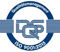Qualitätsmanagement DQS nach ISO 9001:2015